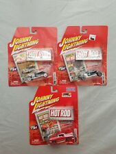Johnny Lightning Hot Rod 1923 Ford T-Bucket T-Roadster 57 Chevy Bel Air Lot of 3