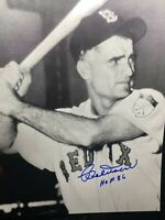 Bobby Doerr HOF86 Red Sox Autograph 8x10 Photo