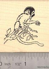 Squirrel Monkey Rubber Stamp   H13914 WM