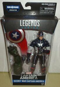 Hasbro Marvel Legends Secret War Captain America BAF Abomination figure
