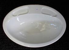 White generic plastic oval bathroom vanity sink for caravan motorhome boat SN12