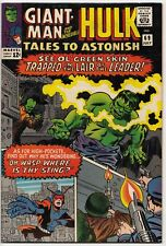 TALES to ASTONISH #69 Last GIANT-MAN MARVEL SilveR Age KIRBY HULK 9.0