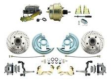 1964-1972 GM A, F, X, Body Style, Front Power Disc Brake Conversion w/Booster