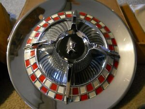 NOS wheel covers 59 Dodge Coronet Royal Lancer D 500 Mopar Forward Look NICE! RA