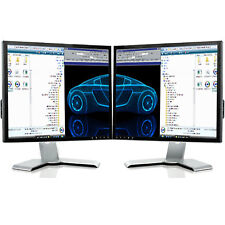 "2X 19"" LCD DUAL MONITOR MATCHING SCREEN COMPUTER PC  TFT VGA 19 INCH GRADE A"