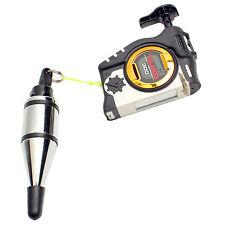 TAJIMA Plumb Rite Stabilizing Plumb Bob Magnetic Auto Rewind
