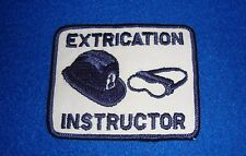 Vintage Extrication Instructor Patch