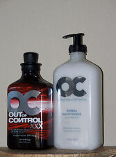 2= OC RSUN OUT OF CONTROL 50X TINGLE BRONZER TANNING & HERBAL MOISTURIZER LOTION