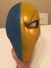 Xcoser Deathstroke Mask Helmet Blue Yellow Classic version Adult Normal Used