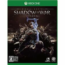 Middle earth Shadow of War  MICROSOFT XBOX ONE  JAPANESE VERSION  IMPORT JAPAN