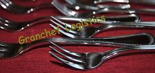 Seafood Forks / Cocktail Forks ~ 6 pieces ~ Dots Pattern ~ Stainless Steel  New