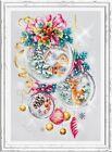 Counted Cross Stitch Kit MAGIC NEEDLE - A Christmas fairy tale
