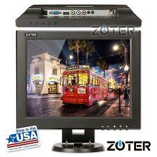 "ZOTER 12"" Inch HDMI BNC VGA LCD CCTV Monitor Screen for DVR PC Security Camera"