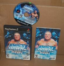 WWE SmackDown Here Comes the Pain PS2  Sony PlayStation 2