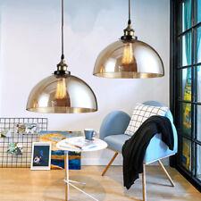 2X Glass Pendant Light Kitchen Chandelier Lighting Bedroom Lamp Ceiling Lights