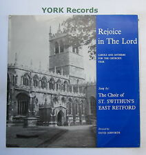 CHOIR OF ST SWITHUN'S EAST RETFORD - Rejoice In The Lord - Ex Con LP Record PAD