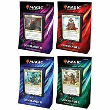 Magic Commander 2019 All 4 Decks Bundle Box