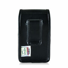 Turtleback Blackberry Q10 9900 9600 Leather Pouch Holster Case Black Belt Clip