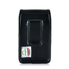 Turtleback Blackberry Q10 9900 9600 Leather Pouch Holster Case Black Belt Clip