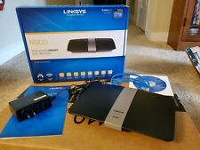 Linksys Ea4500 Dual Band N900 Wireless N Gigabit 450 Mbps Usb Cisco + Power V1