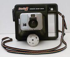 Kodak Handle 2 Used Instant Film Camera Rainbow Strap Vintage 1980 Parts Only