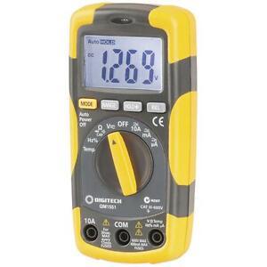 Cat III Multimeter True RMS Autoranging 4000 Count DMM with Temperature QM1551
