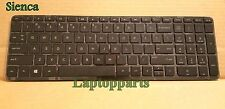GENUINE HP 15-F018DX 15-F019DX 15-F023WM 15-F024WM 15-F033WM Keyboard With Frame