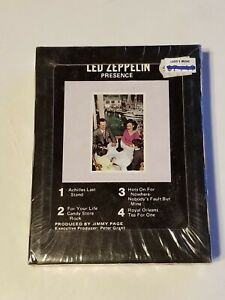 FACTORY SEALED LED ZEPPELIN PRESENCE 8-TRACK TAPE ATLANTIC RECORDS TP-8416