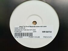 """DEEP PURPLE - SMOKE ON THE WATER (Funky House Remix) 12"""" Exclusive"""