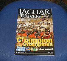 JAGUAR  DRIVER ISSUE 569 DECEMBER 2007 - CHAMPION OF CHAMPIONS
