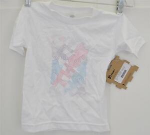 New Thor 3T Toddler White Mazed Tee T-Shirt Shirt ATV Motorcross