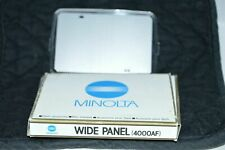 MINOLTA FLASH WIDE PANEL 4000AF NEW FACTORY BOXED FREE SHIPPING 8820-500