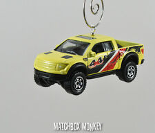 2010 Ford F150 SVT Raptor Ext Cab Pickup Custom Christmas Ornament 1/64 Truck