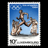 Luxembourg 1984 - Summer Olympic Games Los Angeles Sports - Sc 707 MNH