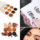 Fashion 9 Colors Women Eye Shadow Makeup Cosmetic Shimmer matte Palette Tool