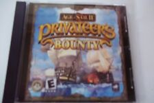 Age of Sail II 2 PRIVATEERs BOUNTY Sailing Battle Pirates Ship PC Win JC Rated E