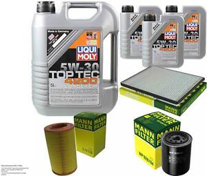 Inspection Kit Filter LIQUI MOLY Oil Oil 8L 5W-30 For Ford Maverick Uds Uns 2.7