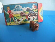 Pekingese Dog 1950 My Pets series by Timpo - Britains Era w box Vintage C1-C2