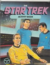 STAR TREK  Activity Book by Peter Lerangis (1986,Paperback) classic vintage TREK