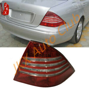 Rear Taill Light Left Driver w/o Bulb u for Mercedes-Benz S-Class W220 2003-2006