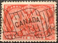 Scott #53 1897 Canada 3 Cent Queen Victoria Postage Stamp