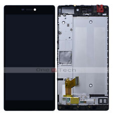 """5.2"""" Huawei P8 Standard GRA-L09 Black LCD Display Touch Digitizer Assembly+Frame"""
