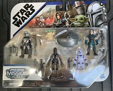 Star Wars Mission Fleet Defend The Child Figure Pack Mandalorian Cara Dune