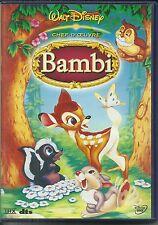 DVD - WALT DISNEY : BAMBI / DESSIN ANIMEE