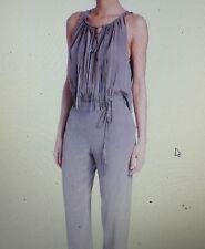 Elie Tahari Cheyenne Sleeveless Fringe One Piece Silk Jumpsuit Sz 10 $398