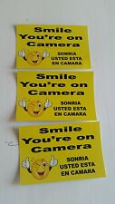 VIDEO SURVEILLANCE Security Decal Warning Sticker (6x4in )set of 3 pcs #2