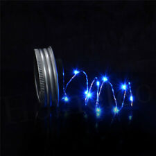 Solar Mason Jar Lights, Color Changing Jar Fairy Lamp with Waterproof Mason