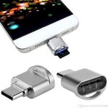 USB 3.1 Type C Micro SD TF Card Reader USB-C OTG Adapter Alloy