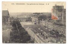 vincennes  vue générale du chateau