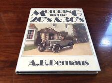 Beau livre - Motoring in the 20's & 30's - A.B. Demaus - Batsford Books - 1985